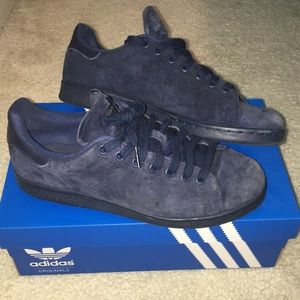 more photos 9220c 526f8 Adidas Stan Smith - blue suede